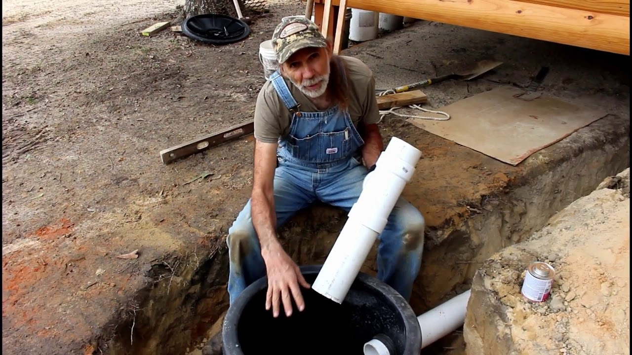 How to INSTALL Your OWN Septic Tank | Septic System Install | Part 3