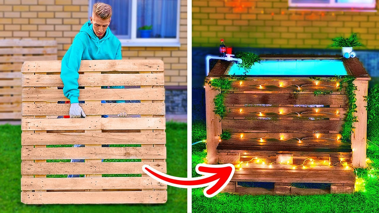 Incredible DIYs For Your Backyard || Awesome DIY Pallet Project Ideas