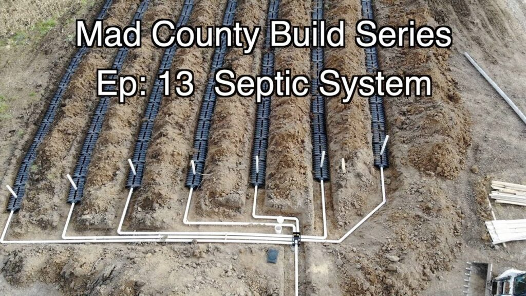 Installing a Septic System Ep13