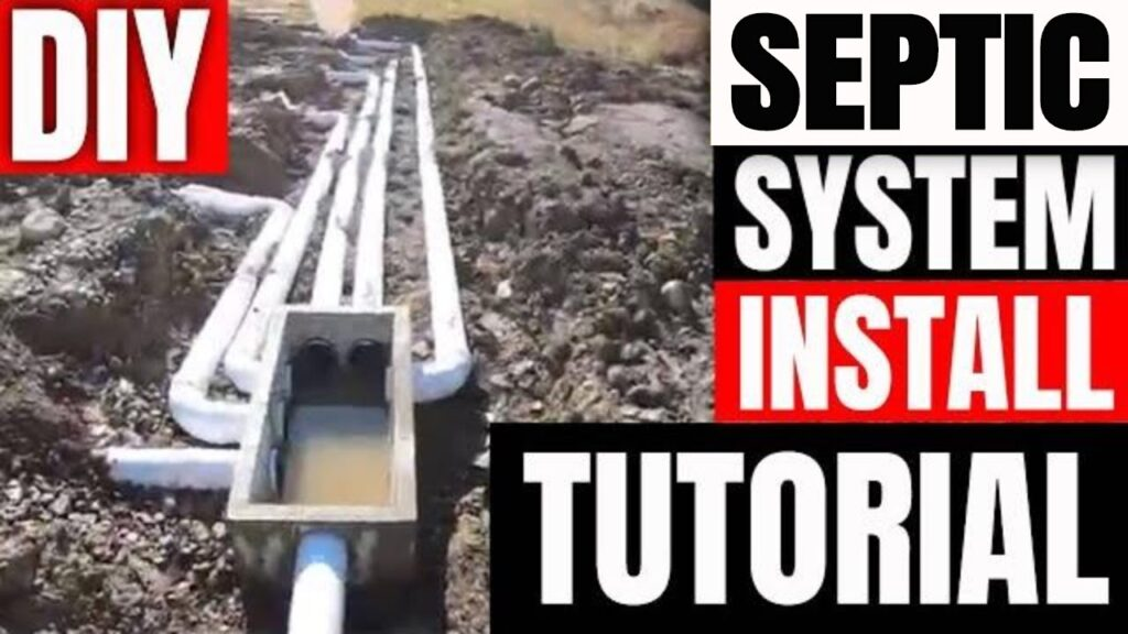 Installing a new septic system complete DIY tutorial for beginners