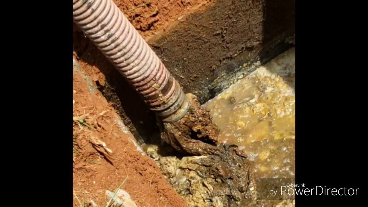 Pumping and maintaining a septic tank