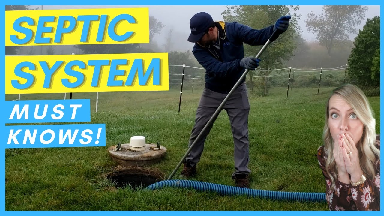 SEPTIC TANK PUMPING IN MN | PRIVATE SEPTIC SYSTEMS | SEPTIC TANK MAINTENANCE | BUYING AN ACREAGE
