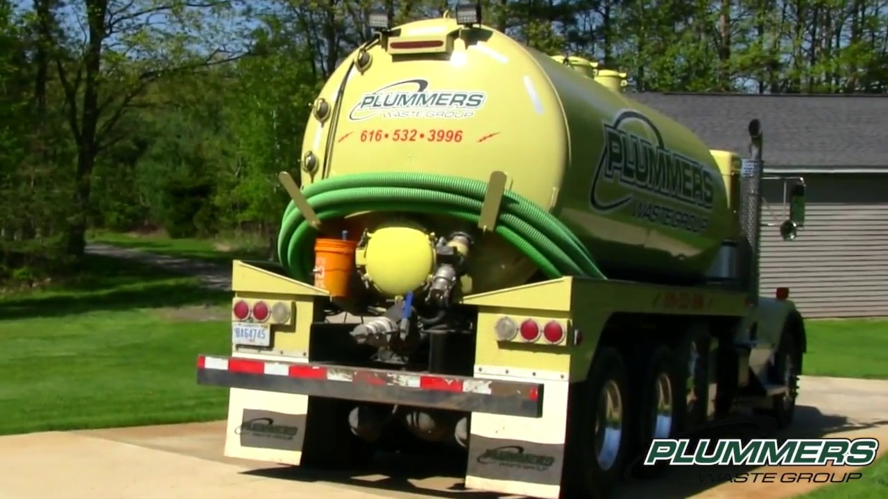 Septic Pumping - What to Expect - Plummer's Waste Group